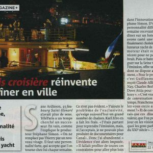 STEPHANE SIMON 2007-10-14 TV MAGAZINE A8565