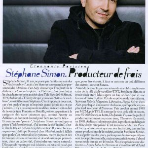 STEPHANE SIMON 2007-2-1 PALACE COSTES A3208